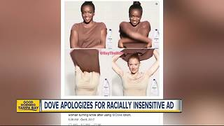 Dove apologizes for racially insensitive ad - Video