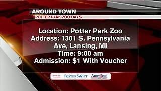 Around Town 7/9/18: Potter Park Zoo Days - Video