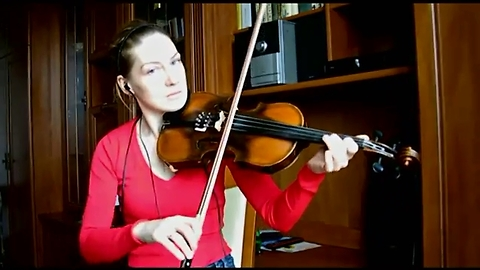 Beautiful violin cover of 'Someone Like You' by Adele