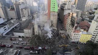 Four dead and forty missing after building collapse - Video