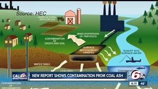 New report shows groundwater contamination around the state from coal ash - Video