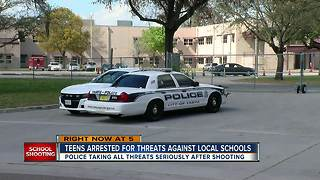 Two Tampa students arrested, charged with making false threats against schools - Video