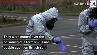 Russian Diplomats Head Home After UK Summarily Ejects Them - Video