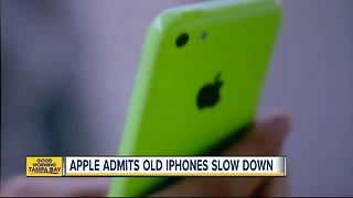 Apple admits to deliberately slowing down old iPhones