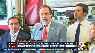 New funds to fight the opioid crisis - Video