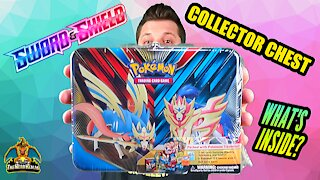 Sword & Shield Collector Chest | Pokemon Cards Opening