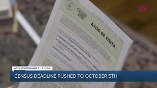 Deadline to participate in U.S Census moves up by more than three weeks