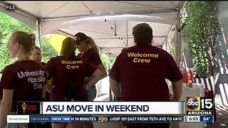 ASU begins moving in students for new school year - Video