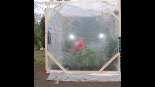 Whimsical Scientist Sealed Himself in DIY Biodome