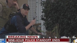 SWAT standoff ends with no arrest - Video