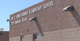 Clark County School District Supt. Jara checks air quality at campuses