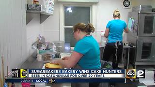 Local bakery wins Cake Hunters on the Cooking Channel - Video