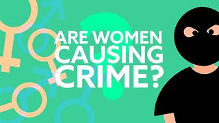 Communities with more men have less crime! - Video