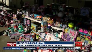 Holiday toy drive for children in Western Kern County