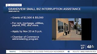 Small business assistance in Overland Park, Grandview