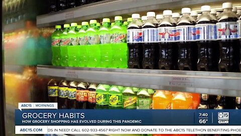 Grocery habits have changed since the pandemic began