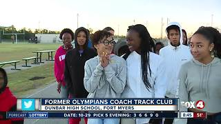 Olympia Track Club teaches importance of higher education - Video