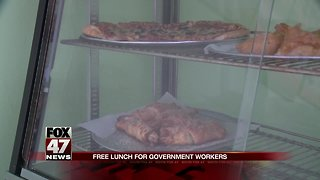 Toarmina's Pizza offering free lunch to government employees