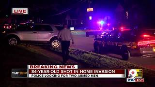84-year-old man shot during break-in shoots back at intruders - Video