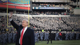 Trump Receives RAUCOUS Ovations At Army Navy Football Game