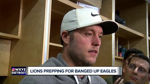Lions getting to full strength as Eagles cancel practice