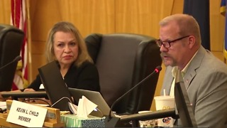 CCSD Trustee Kevin Child threatens to sue district - Video