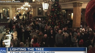Marcus Hotels & Resorts decorates downtown Milwaukee - Video