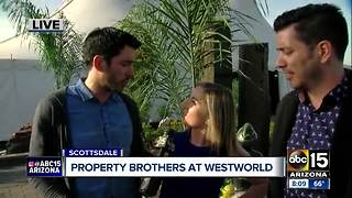 Property Brothers at Home and Garden Show this weekend - Video