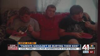 Parents beg for tips in search for son's killer - Video