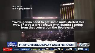 Clark County Fire Department talks about mass shooting response - Video