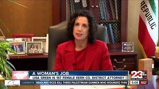 Women Breaking the Mold in Kern County: District Attorney Lisa Green - Video