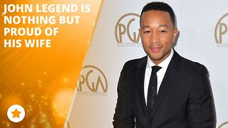John Legend can't stop scoring husband points!