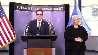 Officials with City, County, Tulsa Health Provide Coronavirus Update Today