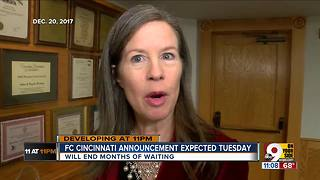 FC Cincinnati announcement expected Tuesday - Video