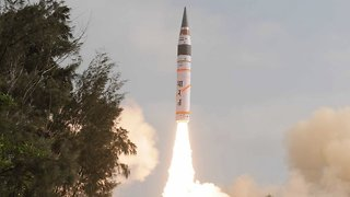 India Tested An Intercontinental Ballistic Missile - Video