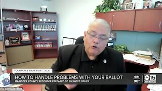 How to handle problems with your ballot