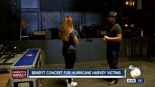 Benefit concert for Hurricane Harvey victims - Video