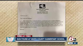 Gun found at white County elementary school - Video