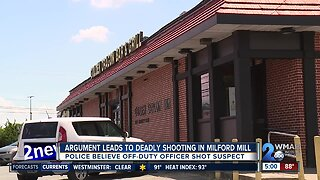 Argument leads to deadly shooting in Milford Mill