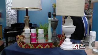 How to revamp an old lamp - Video