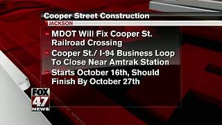 Downtown Jackson construction project to cause delays - Video