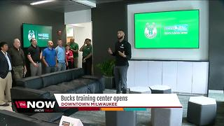 Bucks' training center open