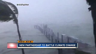 Former NYC Mayor Michael Bloomberg brings message to fight climate change to St. Petersburg