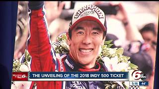 Ticket for the 102nd Indianapolis 500 unveiled - Video
