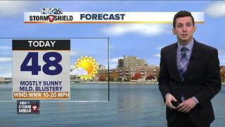 Unseasonably mild weather continues - Video