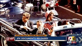 JFK documents released - Video
