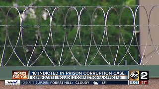 18 indicted in prison corruption case - Video
