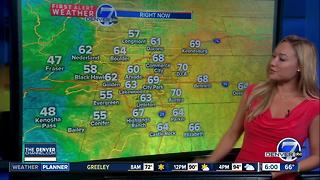 Hot start to the week, but rain is on its way - Video