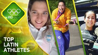 Rio2016: Meet Latin America's top athletes - Video
