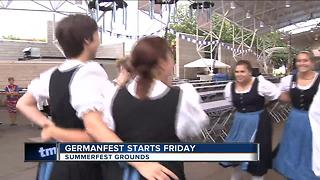 Germanfest starts Friday